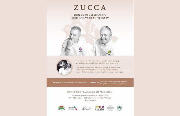Zucca Aniversary - Charitable event - Bambi International Foundation