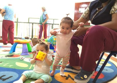 Early Stimulation for Babies from 0 to 2 years old, in abandoned situation